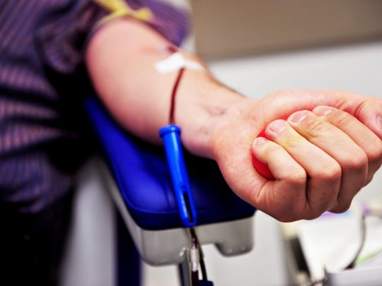 Donating blood can benefit the donor as well as the