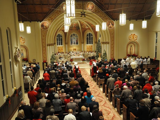 Bishop Glenn Provost rededicated St. Genevieve Catholic