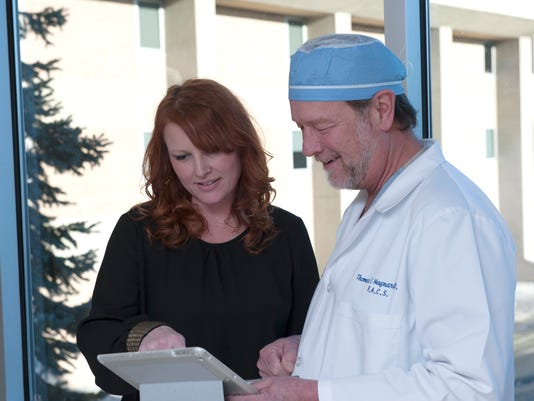 Patient and Surgeon