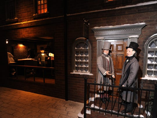 Dickens Village at the Macy's Center City in Philadelphia is a winter tradition.