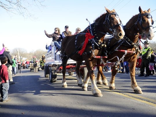 Leipers Fork Christmas Parade will step off at 2 p.m. Saturday, Dec. 8, on the village's main street.
