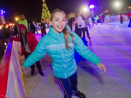 WinterFest continues at Cooper River Park with ice skating and other seasonal fun.