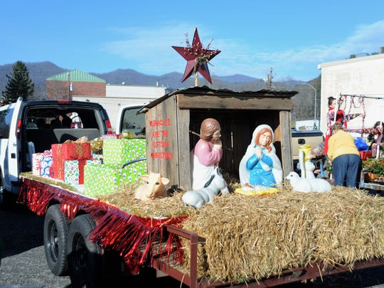 "The top floats in the Black Mountain Christmas Parade will  be decided by a panel of judges before the parade begins on Dec. 8.  This year's theme will be ""Christmas: Then & Now."""