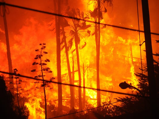 Thomas fire 7