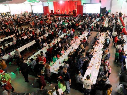 Thousands share H-E-B feast