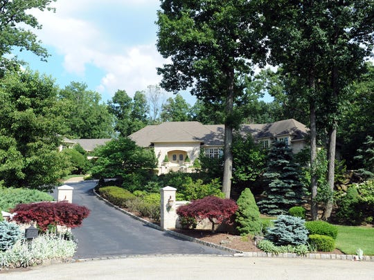 2013 archive photo of the home of the Soprano family on the Sopranos located at 14 Aspen Dr. in North Caldwell.