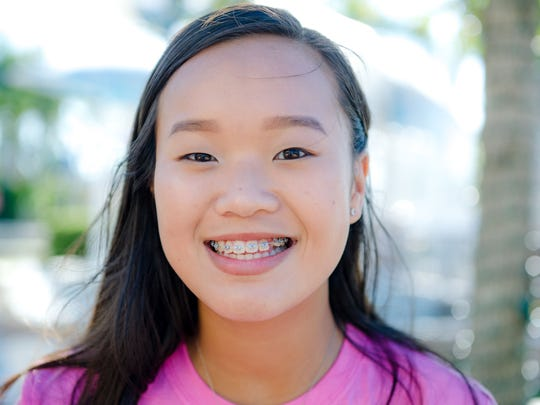 "Courtney Giang says, ""When I'm older I want to do something"