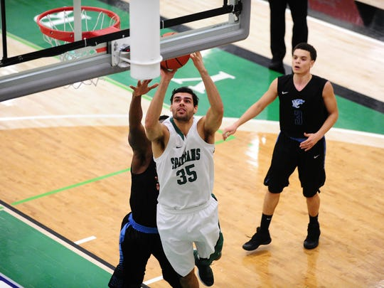 Lebanon grad Blayde Reich is in the midst of a huge senior season for the York College men's basketball team.