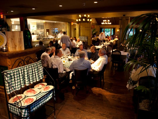 Mr. B's prides itself on serving up a great Old-Fashioned to go along with its signature steaks.
