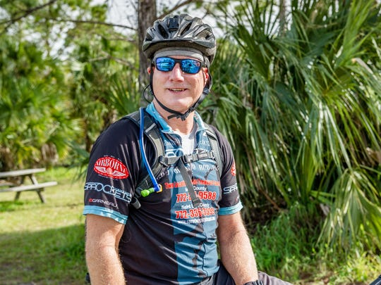 """The only reason this place (Jonathan Dickinson State Park bike trails) exists is because of Juliana Catalfumo.""  -  Club Scrub member Chris Munson"
