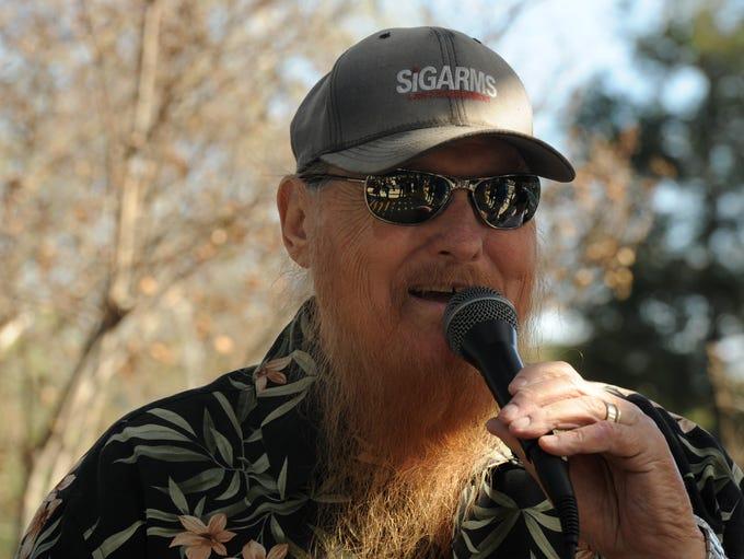 In  March 2011, Mickey Jones helped judge a mustache