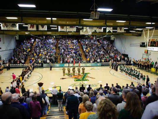 Bignhamton vs. Vermont Men's Basketball 02/21/18
