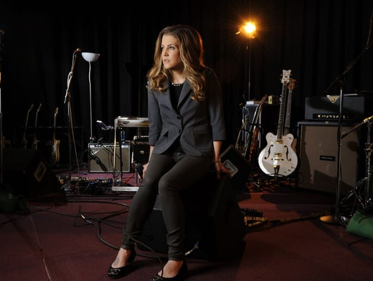 "Lisa Marie Presley will be part of an exclusive launch party for the new ""Where No One Stands Alone"" album of Elvis gospel duets at Graceland on Saturday."