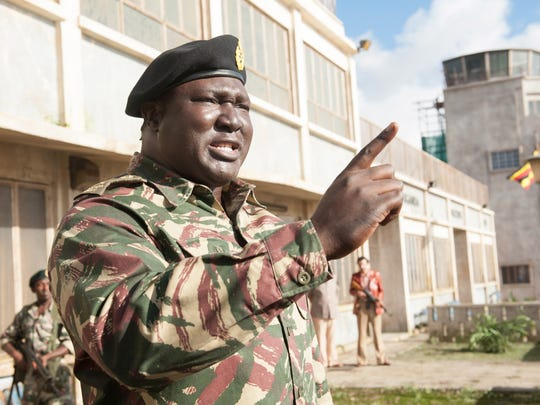 "Nonso Anozie stars as Idi Amin in ""7 Days In Entebbe."""