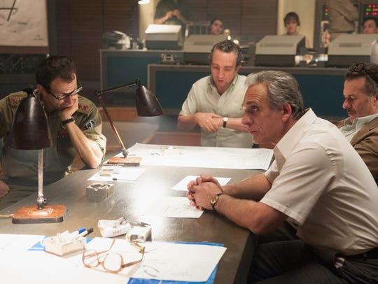 Eddie Marsan stars as Shimon Peres and Lior Ashkenazi