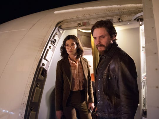 "Rosamund Pike and Daniel Brühl star in ""7 Days in Entebbe."""