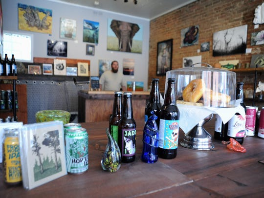 BAD Craft offers around two dozen craft beers from