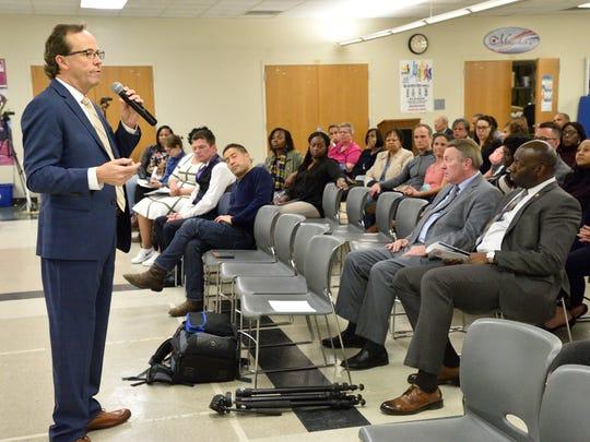 Michael Kozak, a Teaneck schools superintendent finalist,