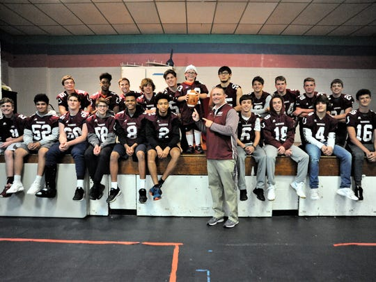 Owen head coach Nathan Padgett and the Warhorses visit