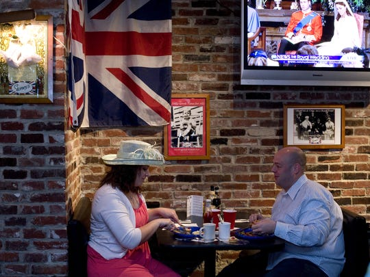 Stoney's British Pub in Talleyville is offering a Royal Wedding breakfast buffet on May 19. They did the same in 2011 for the wedding of Prince William and Kate Middleton.