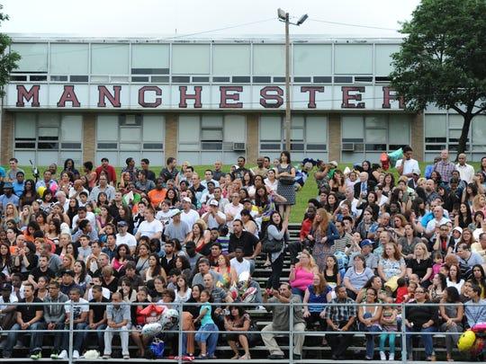 Manchester Regional High School in Haledon.