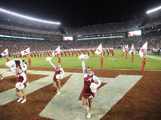 Scenes from inside Bryant-Denny Stadium before the Alabama/LSU game Saturday, Nov. 5, 2011, in Tuscaloosa, Ala. (Montgomery Advertiser, Mickey Welsh)