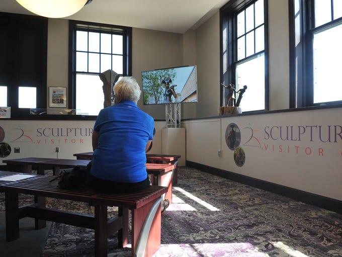 The Washington Pavilion opened a new SculptureWalk
