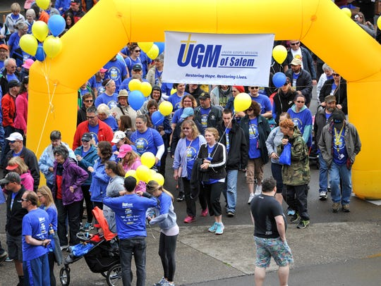 UGM of Salem Walk for Hope & Fun Run: A 5K where every