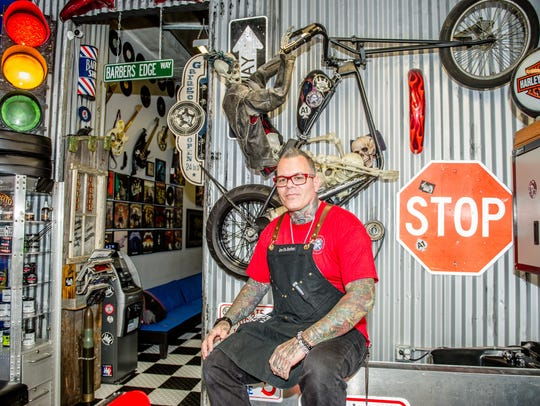 Joe da Barber took his passion for skateboarding, motorcycles,