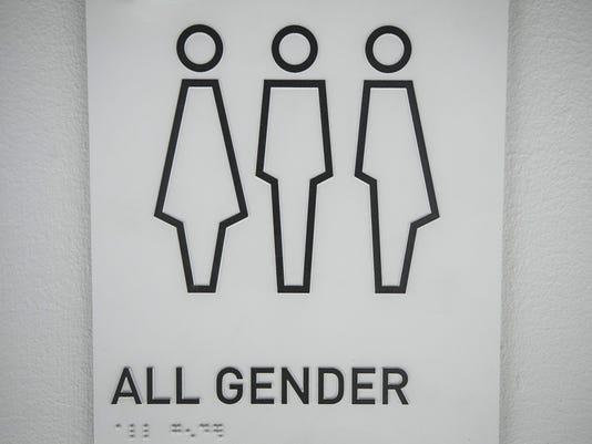 Arena bathrooms