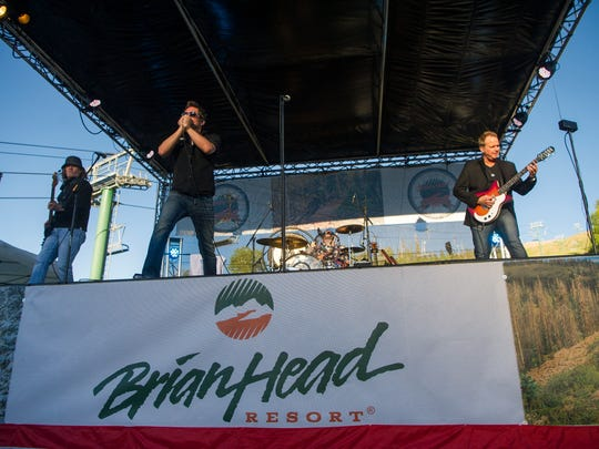 "Zepplin USA performs at ""The Main Event"", a music festival in Brian Head Resort Saturday, June 30, 2018."