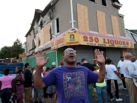Demonstrators marched through Paterson to demand an