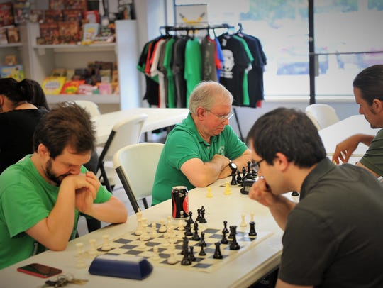 Dragon's Club Comics & Games hosts chess nights on