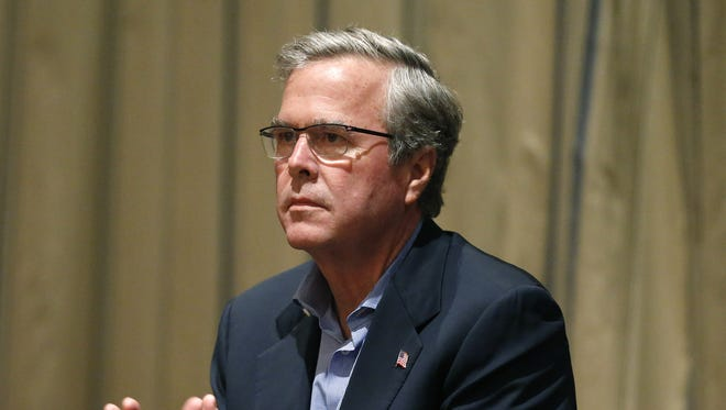 Former Florida governor and potential Republican presidential candidate Jeb Bush