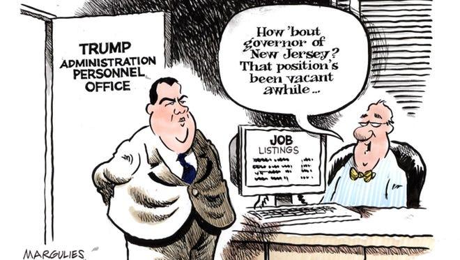 Editorial cartoon for Sunday, Nov. 20.