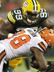 Green Bay Packers and ex-UL defensive lineman Christian