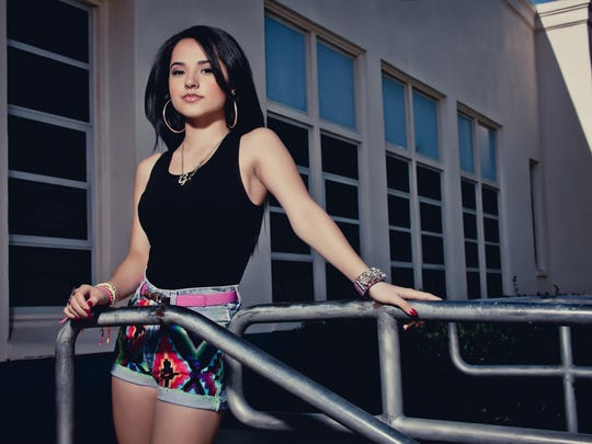 Pop and hip-hop artist Becky G. will perform 4 p.m. Sunday, Aug. 30, at the Oregon State Fair.