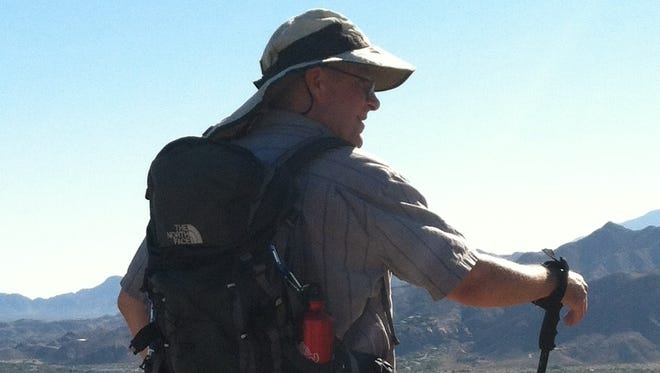 Scott Williams on a recent hike.