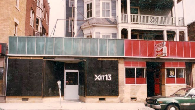 The Exterior of Xit 13 in 1982.