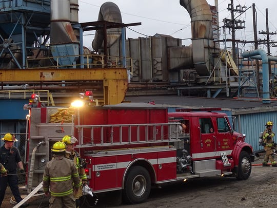 Crews with Falls Township and the Zanesville Fire Department fought a fire at Casting Solutions on Licking Road. No injuries were reported after a transformer caught fire.