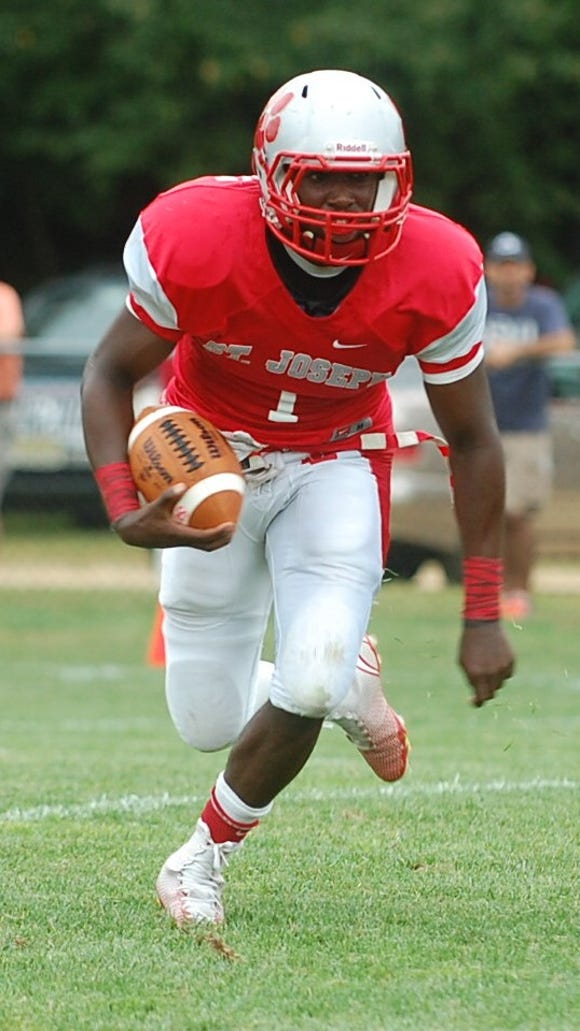 Salaam Horne and the rest of the St. Joseph football team will be traveling to Ohio this weekend