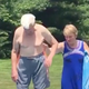 95-year-old Air Force veteran shows little boy how to be brave