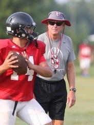 Stewarts Creeks and football coach David Martin were