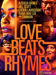 The poster for 'Love Beats Rhymes'