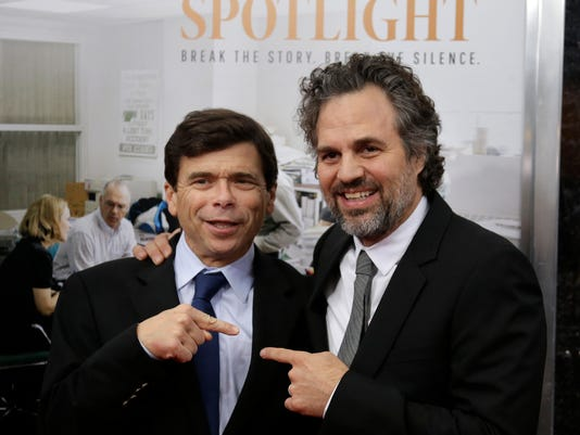 Michael Rezendes, Mark Ruffalo