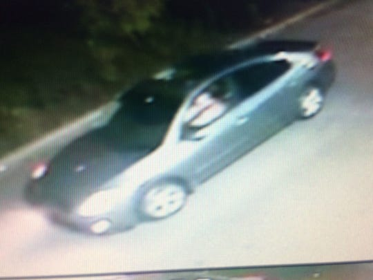 Murfreesboro detectives are seeking in the person in the car pictures as a person of interest in a homicide on East Northfield Boulevard on Friday night.