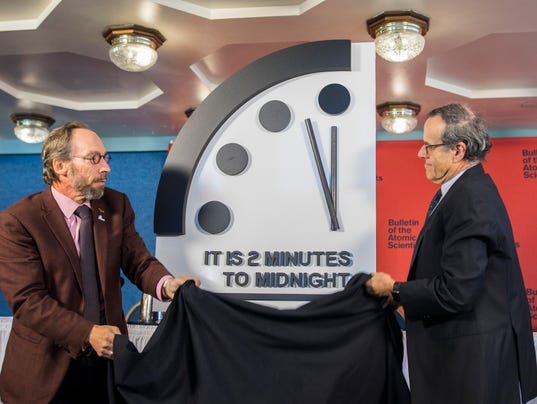 EPA USA DOOMSDAY CLOCK POL GOVERNMENT USA DC