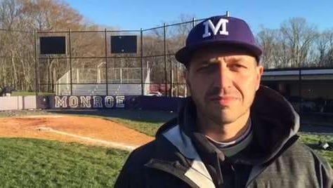 Monroe High School baseball coach Pat Geroni