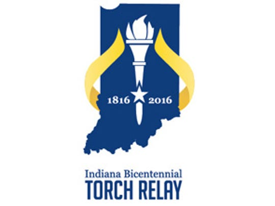 The Indiana Bicentennial Torce Run was scheduled to start Sept. 9, 2016, in Corydon — the state's first capital — and end Oct. 15, 2016, at the Statehouse.