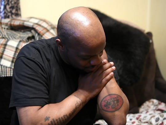 Saquon Barkley's father and life-long New York Jets fan, Alibay Barkley, says he won't be adding a New York Giants tattoo above his Jets tattoo. Barkley's friends, family, teachers and coaches talk to Northjersey.com on a visit to his hometown of Coplay, P.A. on Monday, April 30, 2018.